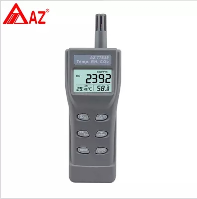 AZ77535 Carbon Dioxide Detector CO2 Tester with Temperature and Humidity Points