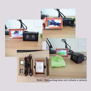 Image 5 - IV7W 4.3inch CCTV AHD TVI CVI CVBS camera tester monitor analog CVBS camera testing UTP cable test 12V1A output free shipping