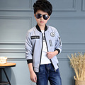 Teenage Boys Jackets Cotton Casual Coats For Boys Clothing Children Outerwear New Year Costumes Letter Baseball Uniforms 6-14Y