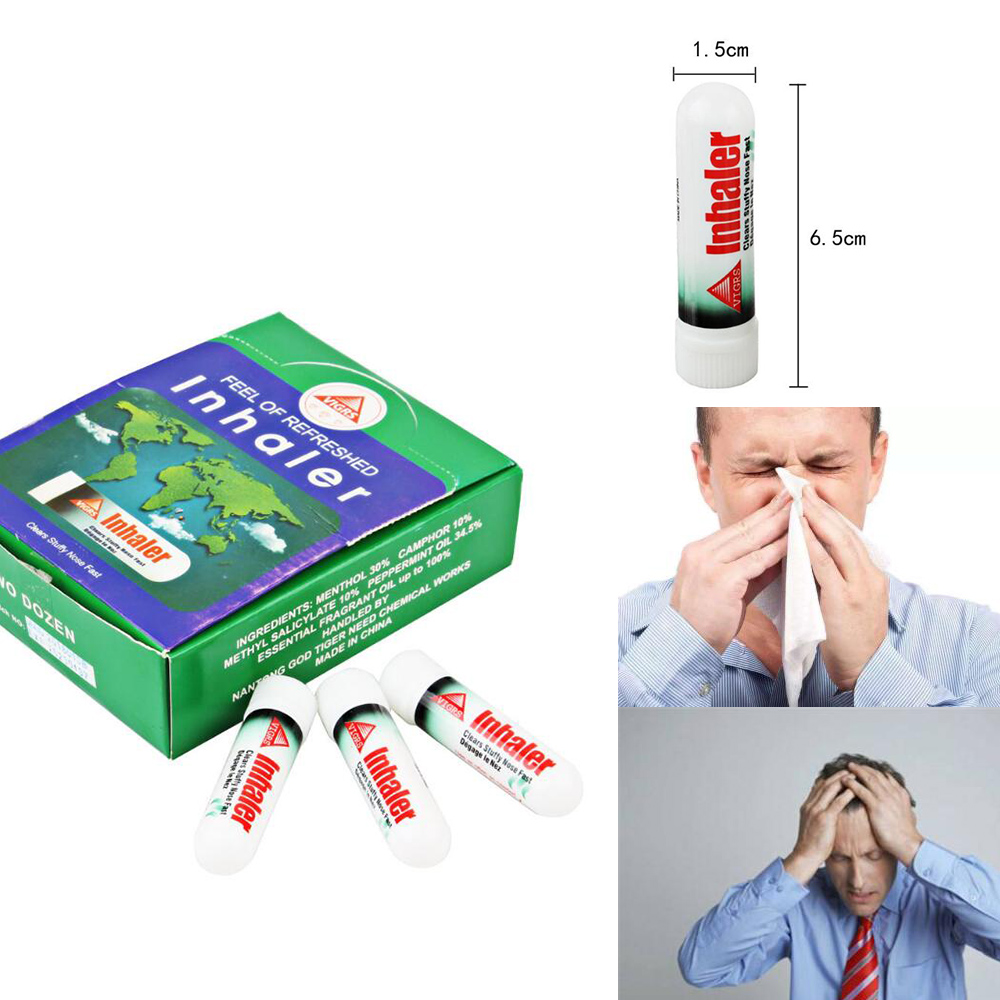 1PC Nasal Inhaler Poy Sian Mark 2 Ii Better Breathe Fast Relief From Nasal Congestion Colds / Hay Fever Allergies / Sinus   D223