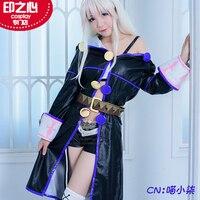 Anime Starting the Magic Book From Zero Zero Cosplay Costume Custom Made Dress Highly Reduction