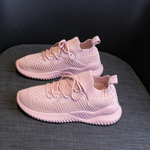 QIAOJINGREN ladies casual shoes breathable 2019 sports womens new fashion mesh