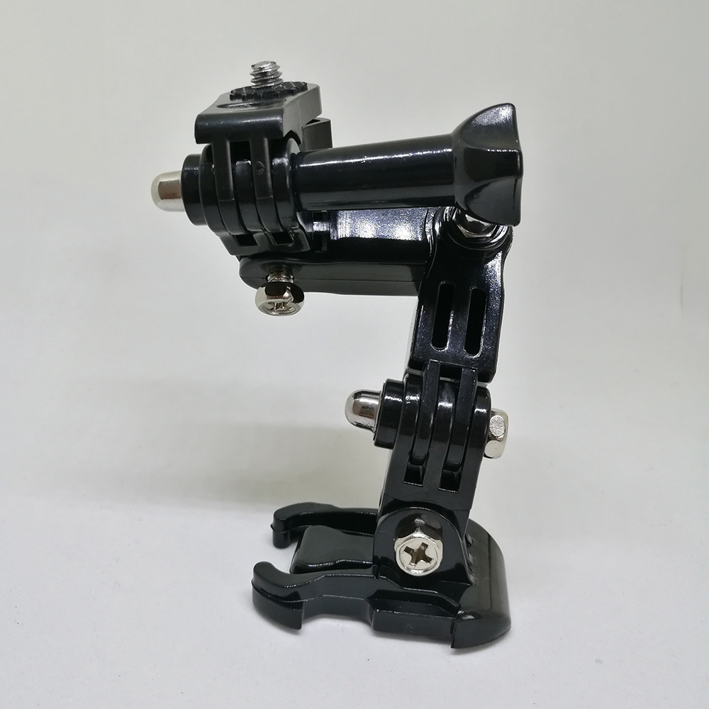 Крепление для мотоциклетного шлема изогнутая клейкая рукоятка для Xiaomi yi 4K Gopro Hero 7 6 5 4 3 SJCAM sj4000 Eken H9 аксессуары для экшн-камеры