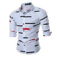M 3XL Plus Size Spring Autumn Features Shirts Men Casual Jeans Shirt New Arrival Long
