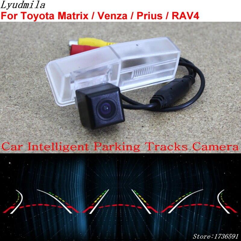 Lyudmila caméra de Parking intelligente pour Toyota Matrix/Venza/Prius/RAV4 RAV 4 caméra de recul