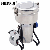 500g Medicine Spice Herb Salt Rice Coffee Bean Cocoa Corn Pepper Soybean Leaf Mill machne Powder Grinder Grinding Machine