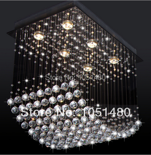 Rectangle Chandeliers: Aliexpress.com : Buy new flush mount rectangle chandeliers modern crystal  lighting length 600mm dinning room light fixtures from Reliable light bulb  surface ...,Lighting