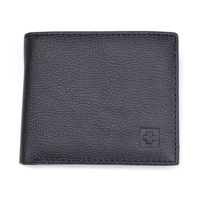 100% Genuine Leather Wallet Men New Brand Purses for men Black Brown Bifold Wallet RFID Blocking Wallets With Gift Box MRF7 3
