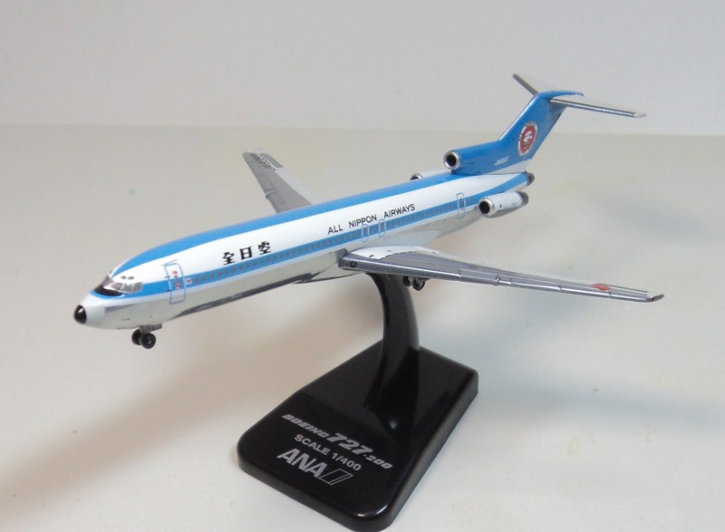 1:400 ANA B727-200 ana JA8355 aircraft model Hogan