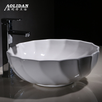 2017 Limited Sink Curtain Rideau De Douche Taiwan Basin Wash Above The Circular Bowl Now Art Ceramic Lavatory Toilet Bathroom