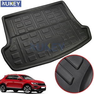 Image 1 - For Volkswagen VW T Roc T ROC TRoc 2017 2018 2019 Boot Liner Cargo Tray Trunk Liner Mat Floor Carpet Luggage Tray Accessories