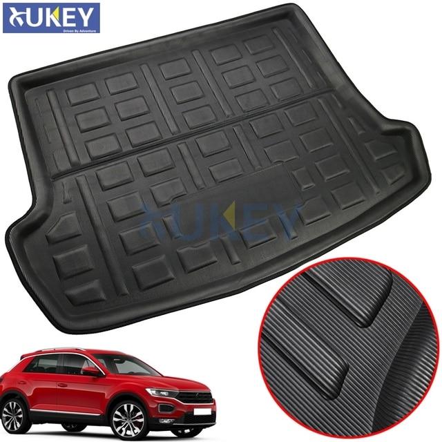 For Volkswagen VW T Roc T ROC TRoc 2017 2018 2019 Boot Liner Cargo Tray Trunk Liner Mat Floor Carpet Luggage Tray Accessories