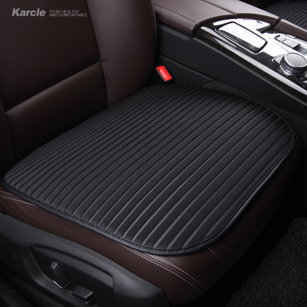 Karcle 1PCS Universal Car Seat Covers Summer Healthy Breathable Auto Seat Cushion Protector Automobiles Accessories Car-styling