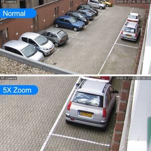 Image 2 - Super Mini PTZ Speed Dome WIFI IP Cámara 1080P al aire libre 5x Zoom óptico 2MP cámara inalámbrica IR ONVIF Audio bidireccional hablar