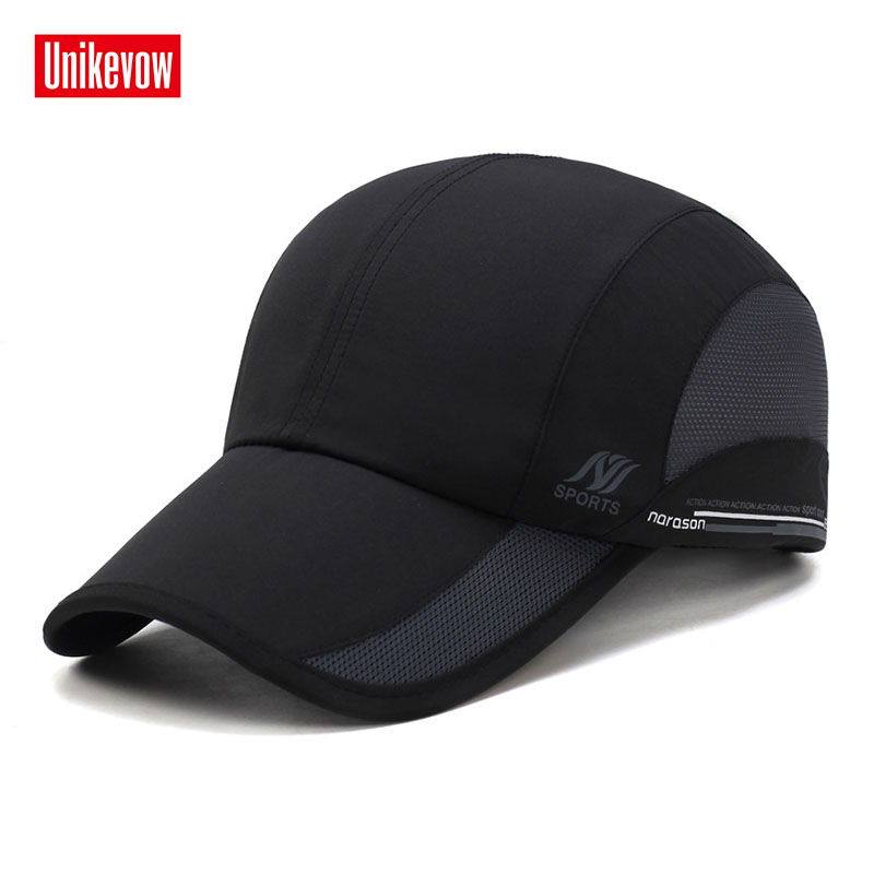 Unisex sneldrogende baseball caps voor heren en dames casual zomerhoed mesh pet