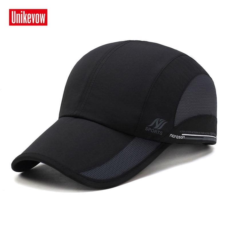 Unisex Quick Dry baseball kape za moške in ženske priložnostne poletne mrežaste kape