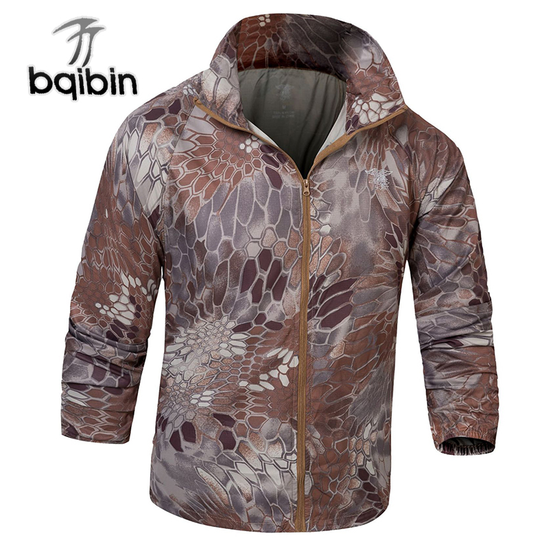 Males Bomber Jacket Skinny Slim Lengthy Sleeve Camouflage Navy Jackets 2019 Windbreaker Zipper Outwear Military Model Clothes