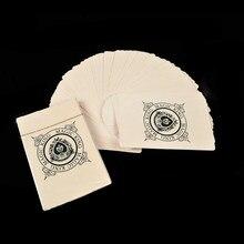Cartões de manipulação fino poker truques mágicos tamanho padrão fino jogando cartas brinquedo piada mágica fácil de jogar para crianças festa mostrar
