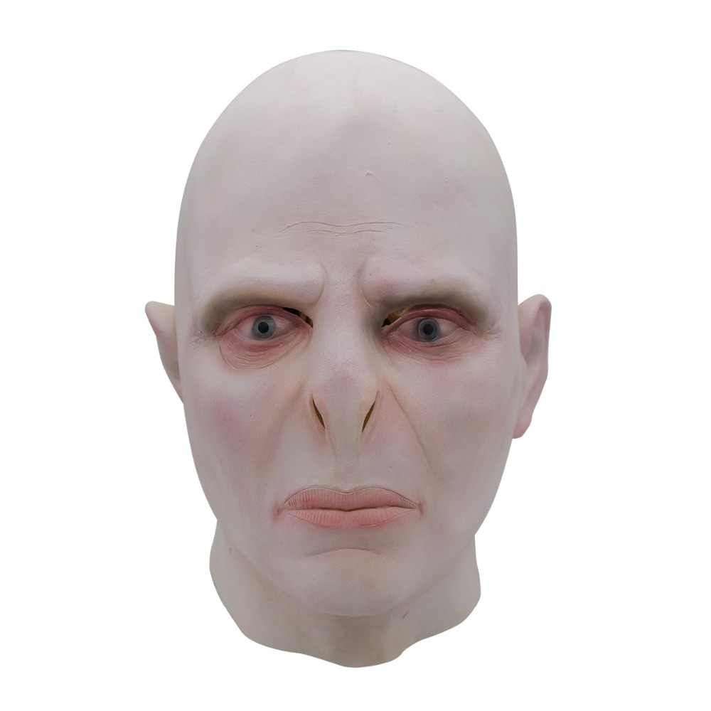 Harri Potter Lord Voldemort Masque chefe Máscara Do Partido Máscaras De Látex Cosplay Assustador Minecraft Terrorizer