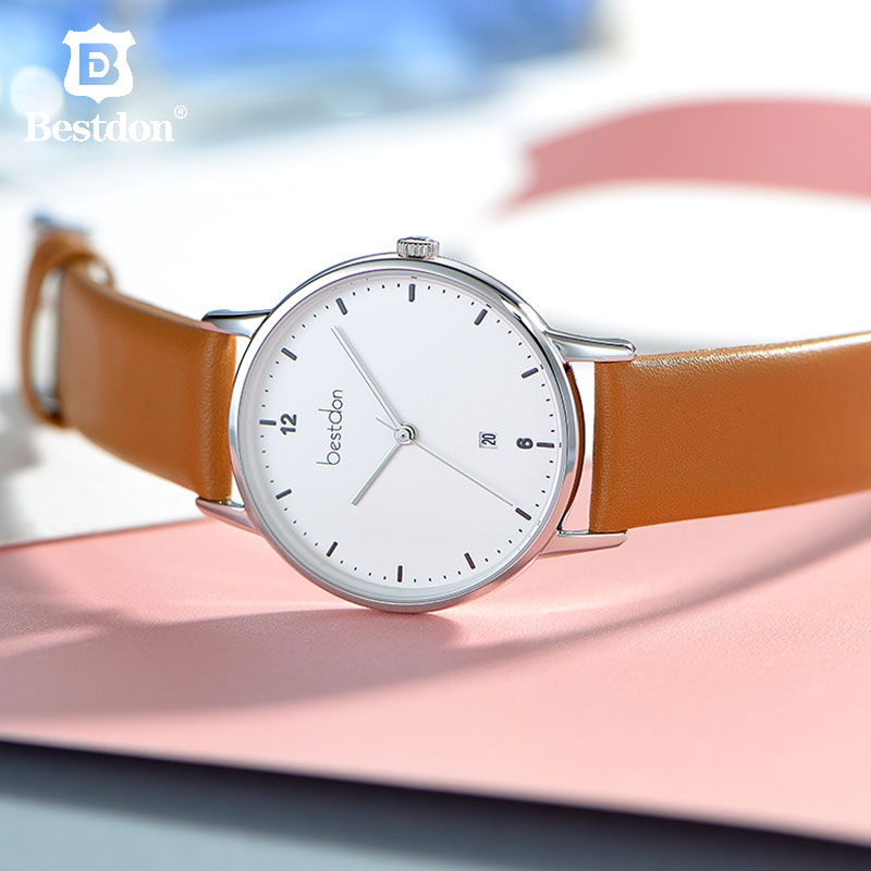 Bestdon Switzerland Luxury Brand Womens Watches Top Designer Leather Ladies Wristwatch Waterproof Dress Quartz Reloj Mujer 2019Bestdon Switzerland Luxury Brand Womens Watches Top Designer Leather Ladies Wristwatch Waterproof Dress Quartz Reloj Mujer 2019