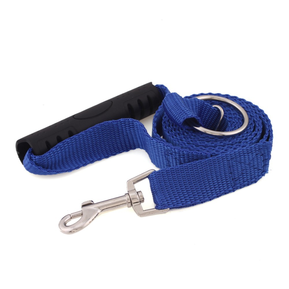 Dog Leash For Large Dogs 30 Lbs Stop Pulling Pet Dog Leash Accessories For Large Dog Collar Leash Red Blue Basic Halter Harness professional game pet leash