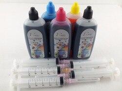 5x100 ml Qualität Dye-tinte Ersetzen Für PGI-570 CLI-571 Für Canon MG6850 MG6851 MG6852 MG6853 MG5750 MG5751 MG5752 MG5753 Drucker