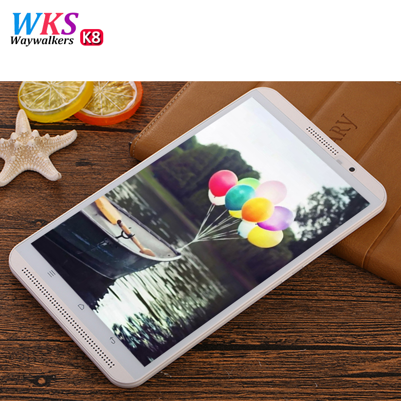 WAYWALKERS 8 pouce K8 Android 6.0 Tablet Android tablet pc Octa Core 4 gb RAM 64 gb ROM Tab 8 noyaux IPS Comprimés Ordinateur
