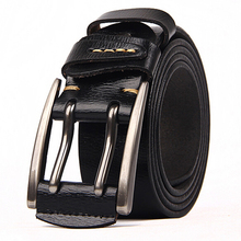 new arrival belt for men Fashion leather male strap waistband 2014 genuine