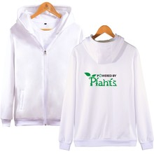 Powered by Plants Zip-up Hoodies