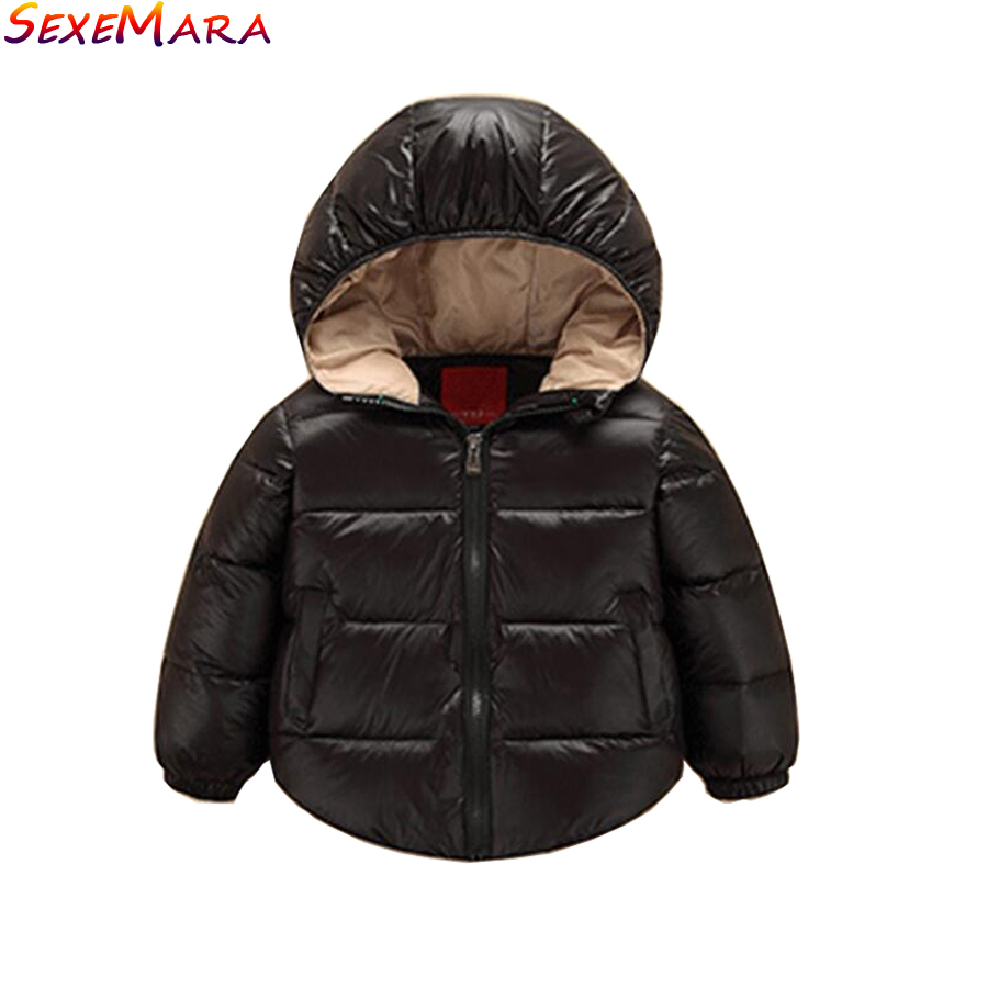 2018 Chegada Nova Novo 90% Do Bebê Snowsuit Vestuário de Moda Outerwear  Jaqueta 7 24 Meses de Neve Quente À Prova D  Água Crianças s Casaco em  Agasalhos ... a1b25d35081