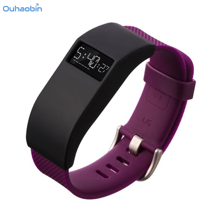 Ouhaobin 1 PC Protect Smart WristBand Slim Designer Sleeve Case Band Cover For Fitbit Charge / Charge HR Protect Cases Nov14
