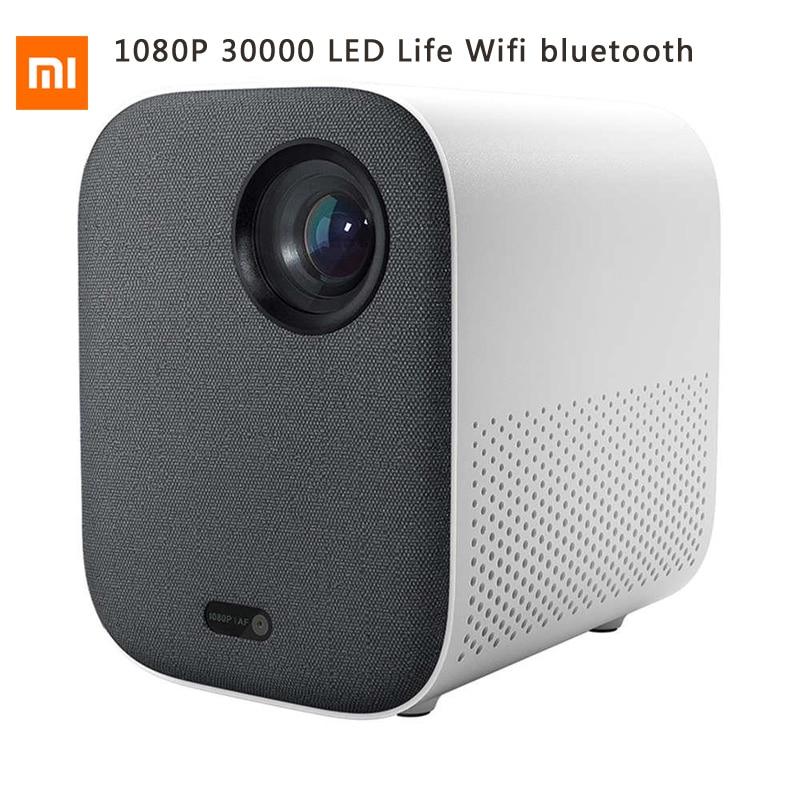Xiaomi Mijia smart DLP projecteur Full HD 1080P 30000 LED de vie Wifi bluetooth pour téléphone ordinateur musique 3D film 4K pour smarthome