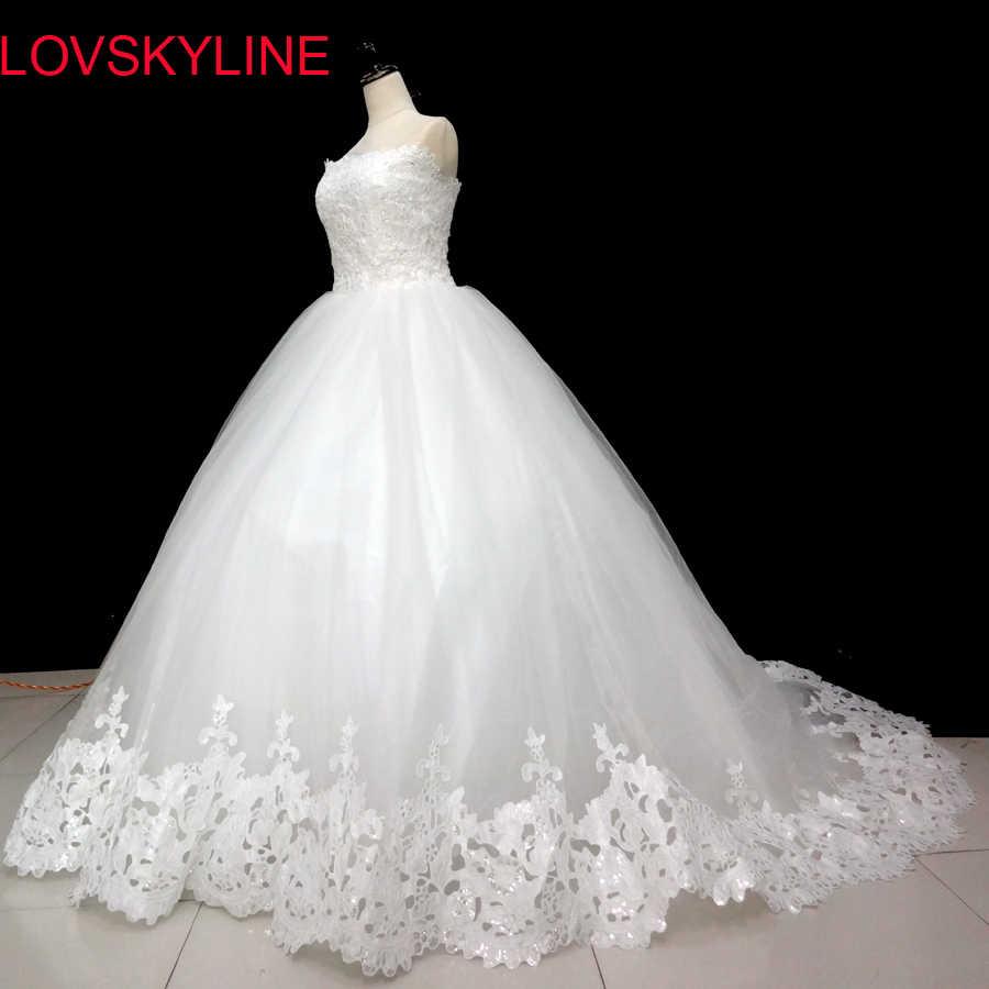 Spring 2018 new Korean Slim trailing wedding bride simple wedding  dressFashion slim brief bride tube top 206b24aaf6e2