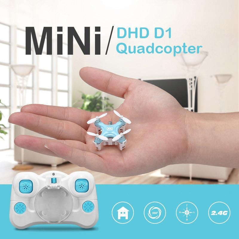 New Cheerson Pocket drone Super mini RC drone CX D1 Headless Mode 2.4G 4CH 6Axis micro sized nano rc quadcopter VS cx-10/cx-10A