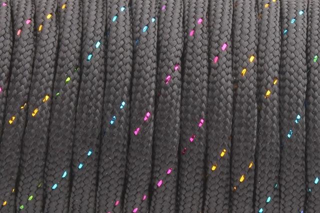 190 black colorful