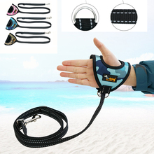 Pet Dog Leash Rope Nylon Training Reflective Lead Dogs Walk Running Cat Strap Traction Harness Collar Glove Type
