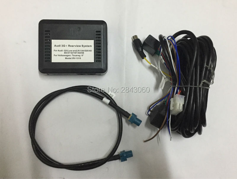 Smart reverse Camera interface for Audi MMI 3G+ A1/Q3/A4L/A5/Q5/A6L/ A7/Q7/A8L with parking guidelines