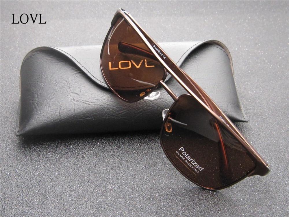Mens's Aluminum Magnesium frame polarized lens sunglasses driving fishing sun glasses eyewear oculos de sol UV 400 L2593