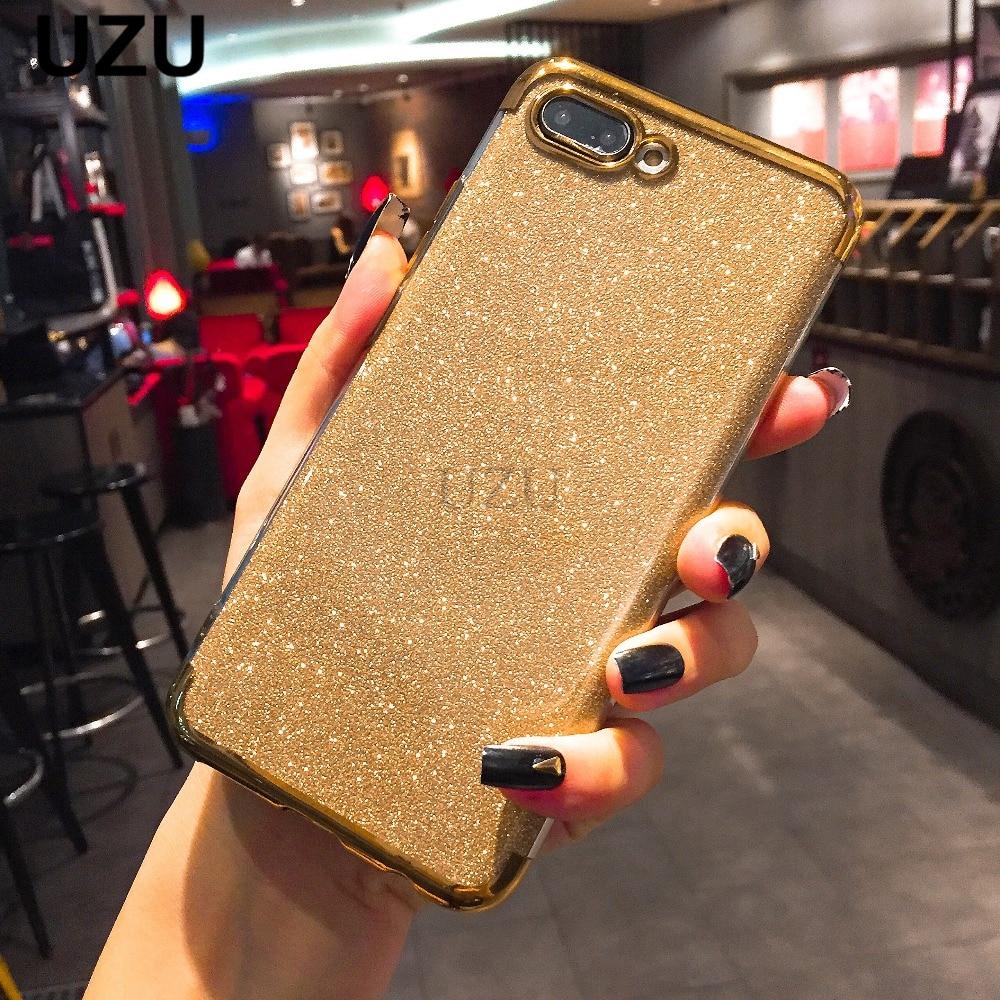 Glitter Bling Case for Huawei P20 Lite Pro P8 P9 lite 2017 P smart Nova 3i 2i capa for Honor 7C 7A Pro Y5 Y6 Prime 2018 Case