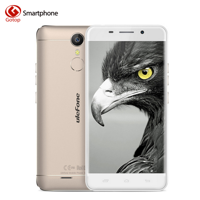 Original Ulefone Metal Smartphone Android 6.0 MTK6753 Octa Core Mobile Phone 3GB RAM 16GB ROM 13.0MP Fingerptint 4G Cell Phone