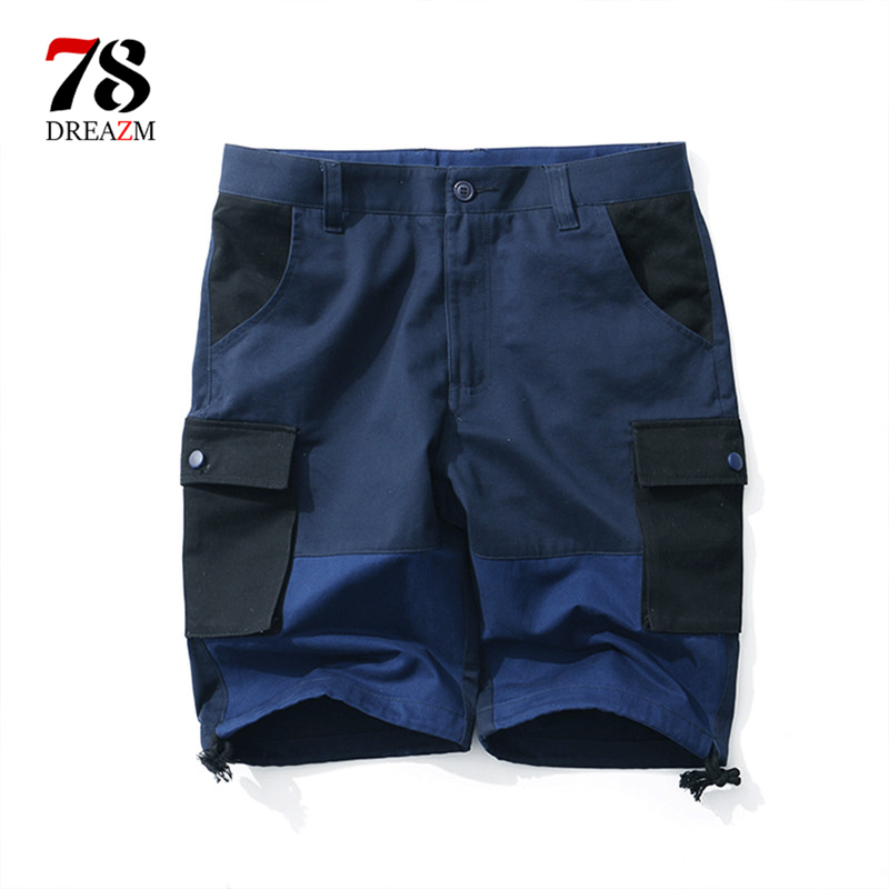New 2018 Summer Men Short Pant Casual  Short Mens Joggers Printed Sexy Shorts Elastic Waist Hip Hop Beach Streetwear Brand