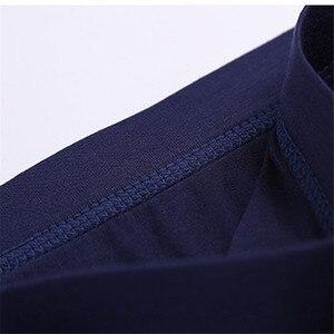 Image 4 - 큰 느슨한 남성 모달 Underwears 복서 높은 허리 팬티 통기성 지방 벨트 큰 야드 남자 속옷 플러스 크기
