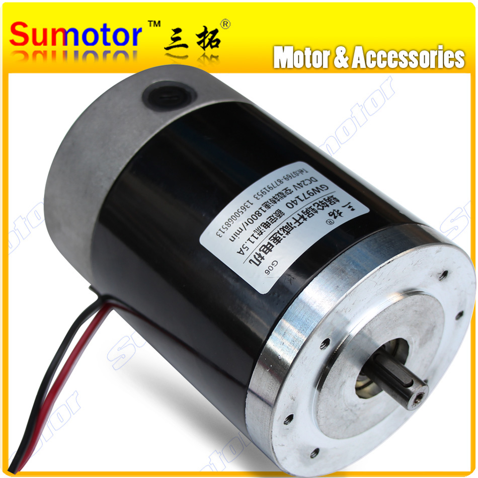 R97140 1800rpm 150w High speed large torque big power Electric Tubular DC motor Pump engine Industrial applications machine tool gw38zy dc 12v 24v worm gear motor double shaft low speed high torque geared box electric engine for diy robot rc car tank model