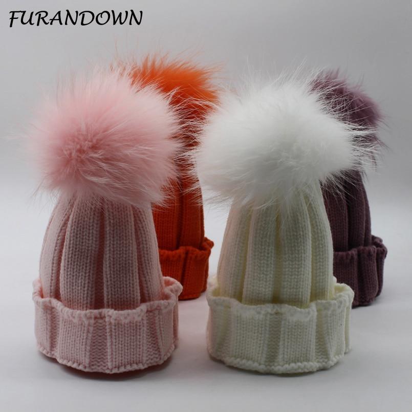 FURANDOWN Czapka zimowa dla dzieci Czapki Dziewczynki Chłopcy - Akcesoria odzieżowe