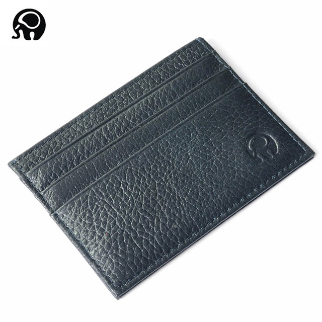 Fashion Leather Bank Card Case