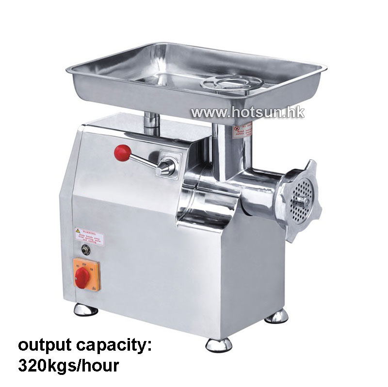 Free Shipping Heavy Duty 320KG/H 110v 220v Commercial Home Electric Auto Butcher Meat Grinder Mincer Maker Mincing Machine bear 220 v hand held electric blender multifunctional household grinding meat mincing juicer machine