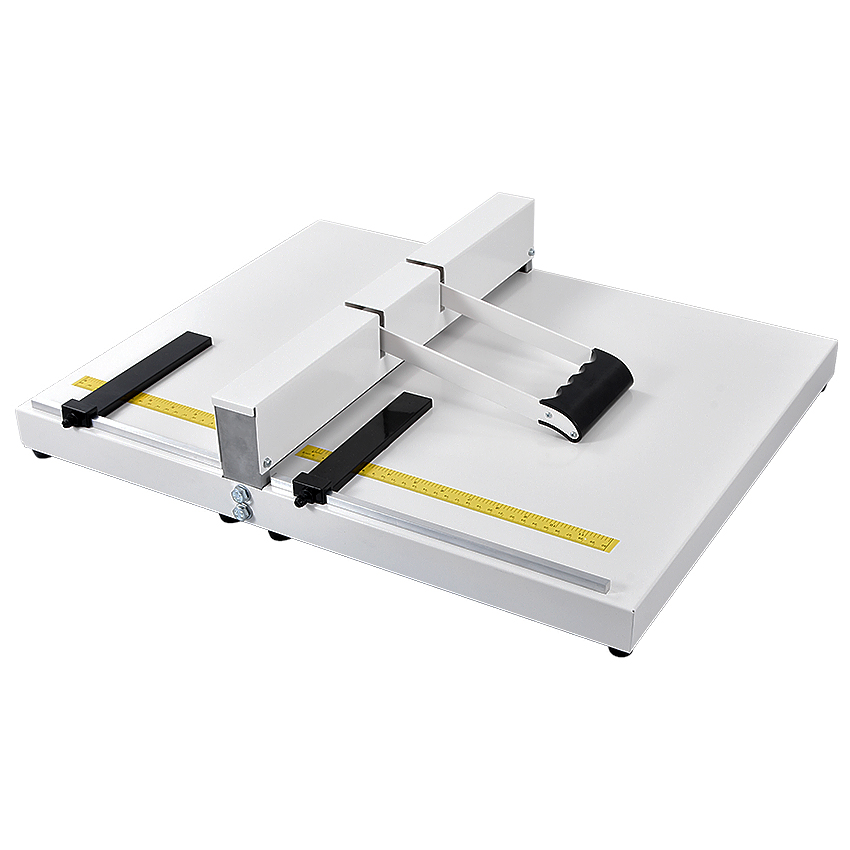 A3 A4 format cover indentation machine indentation width 35CM paper folding machine cover folding Manual Binding