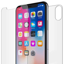 Tempered Film For iPhone Front+Back Tempered Glass HD Film S