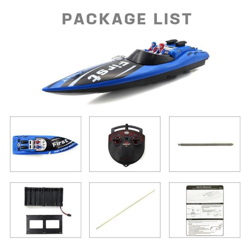 Flytec 2011-10 hors-bord RC bateau bateau jouet pour enfants enfants cadeau