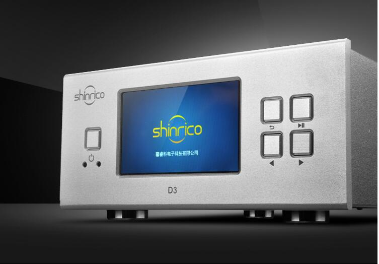 SHINRICO D3 HIFI digital music Audio player lossless player support 32bit 192K FLAC APE WAV ALAC OGG DSD64 DFF DSF SACD ISO